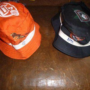 Vintage Orioles Accessories - 6 Baltimore Orioles Souvenir Hats Caps Visor